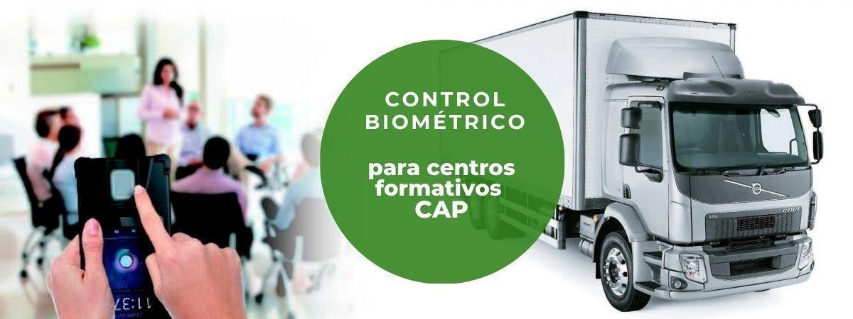 Control de acceso biométrico obligatorio para Centros de Formación CAP